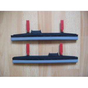 Jeux raclettes rigides LW30 pour tapis et moquettes